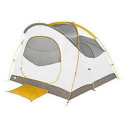 The North Face Kaiju 4 Person Tent, Arrowwood Yellow-Monument Grey, 256