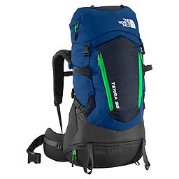 The North Face Terra 35 Backpack Youth, Estate Blue-Blarney Green, 256
