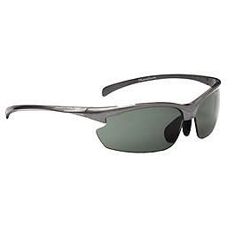 Optic Nerve Omnium Sunglasses, Shiny Black-Polarized Smoke, 256