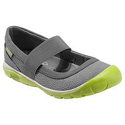 KEEN Kanga MJ Shoe - Women's, Gargoyle-Bright Chartreuse, 256