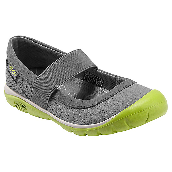 KEEN Kanga MJ Shoe - Women's - 5.5/Gargoyle-Bright Chartreuse, Gargoyle-Bright Chartreuse, 600