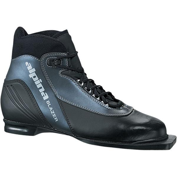 Alpina BLAZER 75mm Ski Boot, Black-Antr-Silver, 600