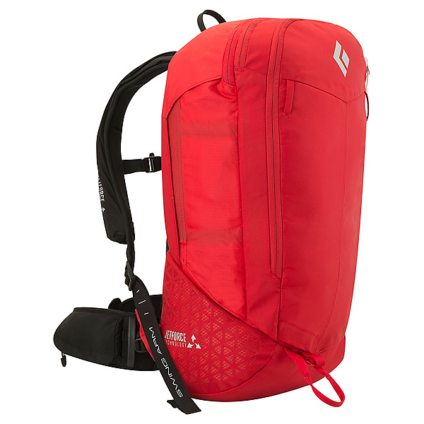 Black Diamond Halo 28 JetForce Backpack - S-MD/Fire Red, Fire Red, 600