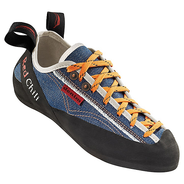 Red Chili Denim Lace Rock Shoe - Men's, Denim Blue, 600