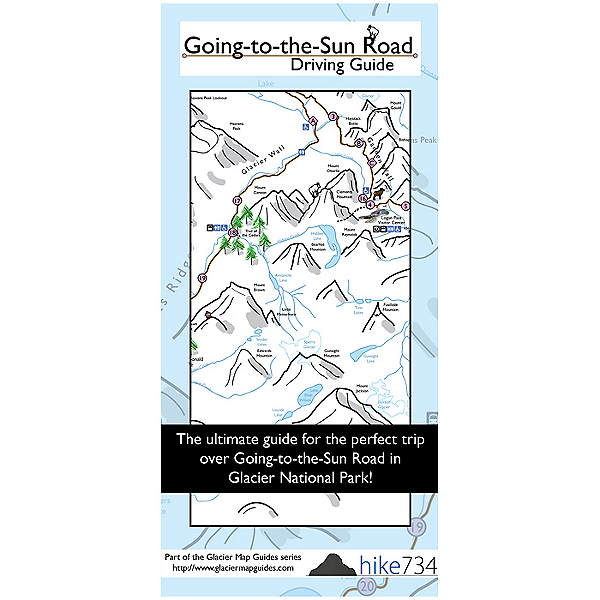 Independent Authors Going-to-the-Sun Road Driving Guide, , 600