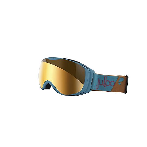 Julbo Luna Goggles - Blue-Yellow w-Zebra, Blue-Yellow w-Zebra, 600