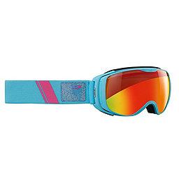 Julbo Luna Goggles, Blue w-Multi Fire Snow Tiger, 256