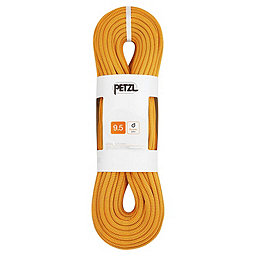 Petzl 9.5 mm Arial Dynamic Rope - Dry, Gold, 256