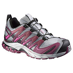 Salomon XA Pro 3D CS WP Shoe - Women's, Pearl Grey-Bordeaux, 256