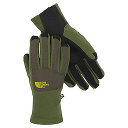 The North Face Denali Etip Glove - Men's, Scallion Green-Black Ink Green, 256