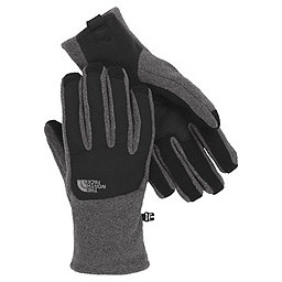 The North Face Denali Etip Glove - Men's, Charcoal Heather-TNF Black, 256