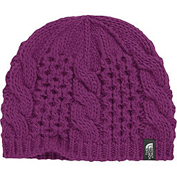 The North Face Cable Minna Beanie - Youth, Parlour Purple, 256