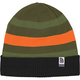 The North Face Pete N Repeat Beanie - Youth, TNF Black-Forest Night Green, 256
