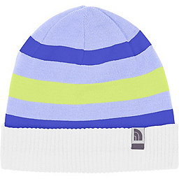 The North Face Pete N Repeat Beanie - Youth, TNF White-Dynasty Blue, 256
