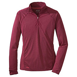 Outdoor Research Essence Long Sleeve Zip Top - Women's, Mulberry-Desert Sunrise, 256