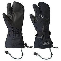Outdoor Research Highcamp 3-Finger Gloves - Men's, Black, 256