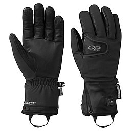 Outdoor Research Stormtracker Heated Gloves, Black, 256