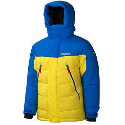 Marmot 8000M Parka - Men's, Acid Yellow-Cobalt Blue, 256