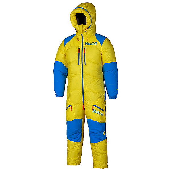 Marmot 8000M Suit - Men's - LG/Acid Yellow-Cobalt Blue, Acid Yellow-Cobalt Blue, 600