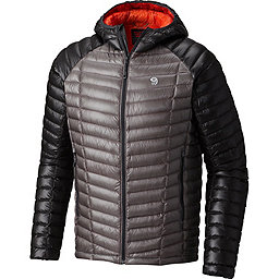 Mountain Hardwear Ghost Whisperer Hooded Down Jacket - Men's, Manta Grey-Shark, 256