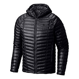 Mountain Hardwear Ghost Whisperer Hooded Down Jacket - Men's, Black-Black, 256