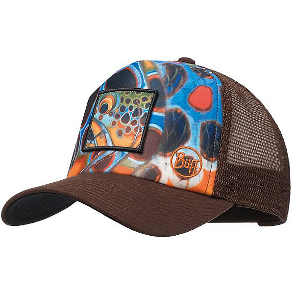 35682ee089b193 Buff Trucker Cap, Brown Mosquito, 600