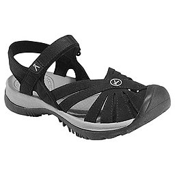 KEEN Rose Sandal - Women's, Black-Neutral Gray, 256