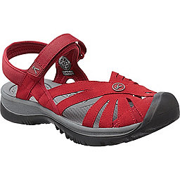 KEEN Rose Sandal - Women's, Red Dahlia-Gargoyle, 256