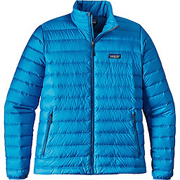 Patagonia Down Sweater - Men's, Andes Blue w-Big Sur Blue, 256