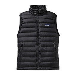 Patagonia Down Sweater Vest - Men's, Black, 256