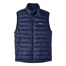 Patagonia Down Sweater Vest - Men's, Navy Blue-Navy Blue, 256