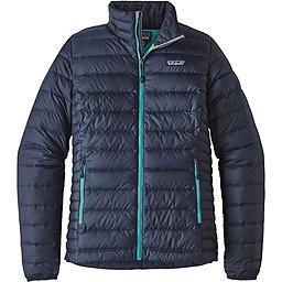 Patagonia Down Sweater - Women's, Navy Blue-Strait Blue, 256