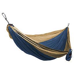 Grand Trunk Single Parachute Nylon Hammock, Royal Blue-Khaki, 256