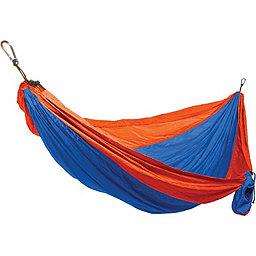 Grand Trunk Single Parachute Nylon Hammock, Orange-Blue, 256