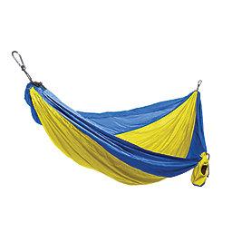 Grand Trunk Double Parachute Hammock, Yellow-Royal Blue, 256
