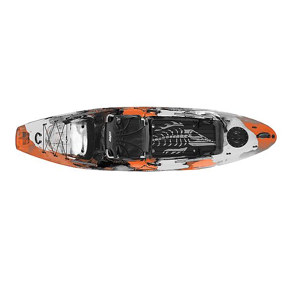 Kaku Kayak Wahoo 10.5 Fishing Kayak Orange Camo, Orange Camo, 600