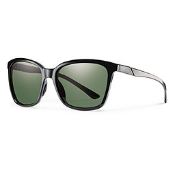 Smith Colette Sunglasses, Blk-Plr Gry Grn Chromapop Plr, 256