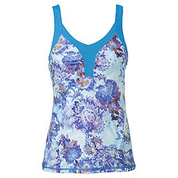 The North Face Echo Lake Tank - Women's, Quill Blue Print, 256