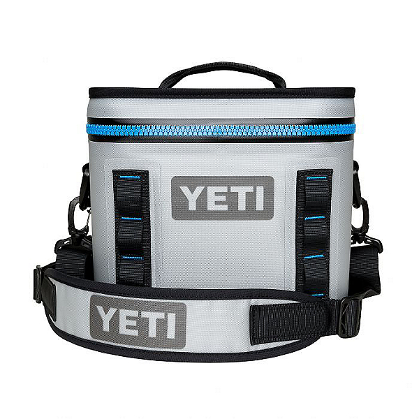 Yeti Coolers Hopper Flip 8 Cooler, Fog Gray, 600