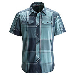 Black Diamond Technician Short Sleeve Shirt - Men's, Admiral-Caspian Plaid, 256