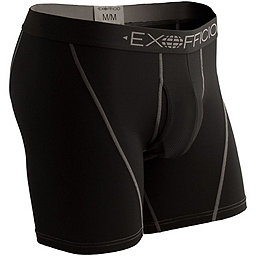 Ex Officio Give-N-Go Sport Mesh Boxer Brief - Men's, Solid Black, 256