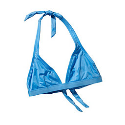 Patagonia Solid Boucau Halter Top - Women's, Skipper Blue, 256