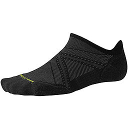 Smartwool PhD Run Light Elite Micro Sock, Black, 256
