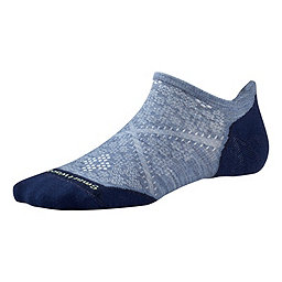 Smartwool PhD Run Light Elite Micro Sock - Women's, Blue Steel, 256