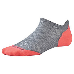 Smartwool PhD Run Light Elite Micro Sock - Women's, Light Gray, 256