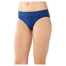 Smartwool PhD Seamless Bikini - Women's, Dark Blue, 256