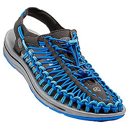 KEEN UNEEK Sandal - Men's, Raven-Imperial Blue, 256