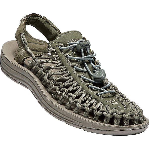 KEEN UNEEK Sandal - Women's - 5.5/Dusty Olive-Brindle, Dusty Olive-Brindle, 600