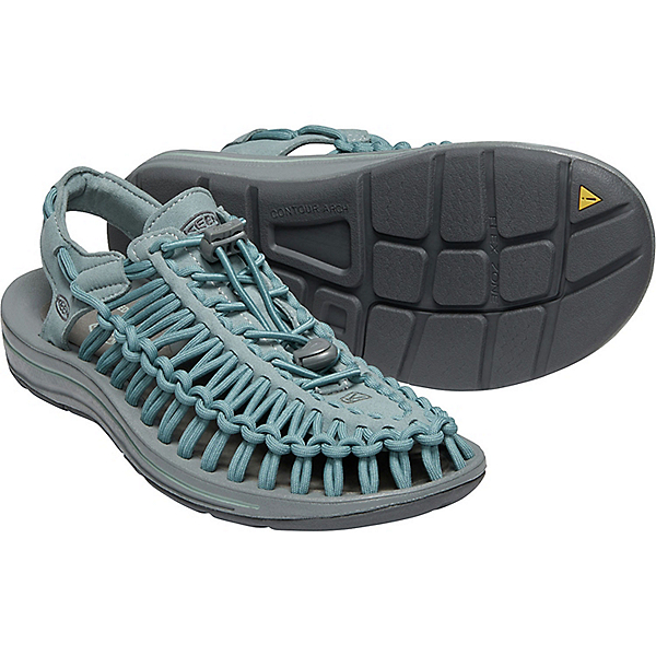 KEEN UNEEK Sandal - Women's - 5.5/Stormy Weather-Wrought Iron, Stormy Weather-Wrought Iron, 600