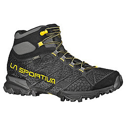 La Sportiva Core High GTX Hiking Boot - Men's, Black-Yellow, 256